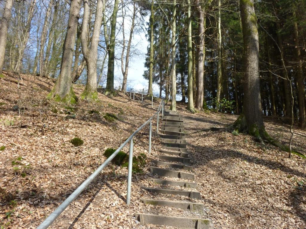 Treppe zum Thomashof