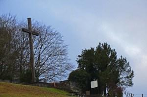 Ehrenfriedhof Abtei Mariawald Kreuz