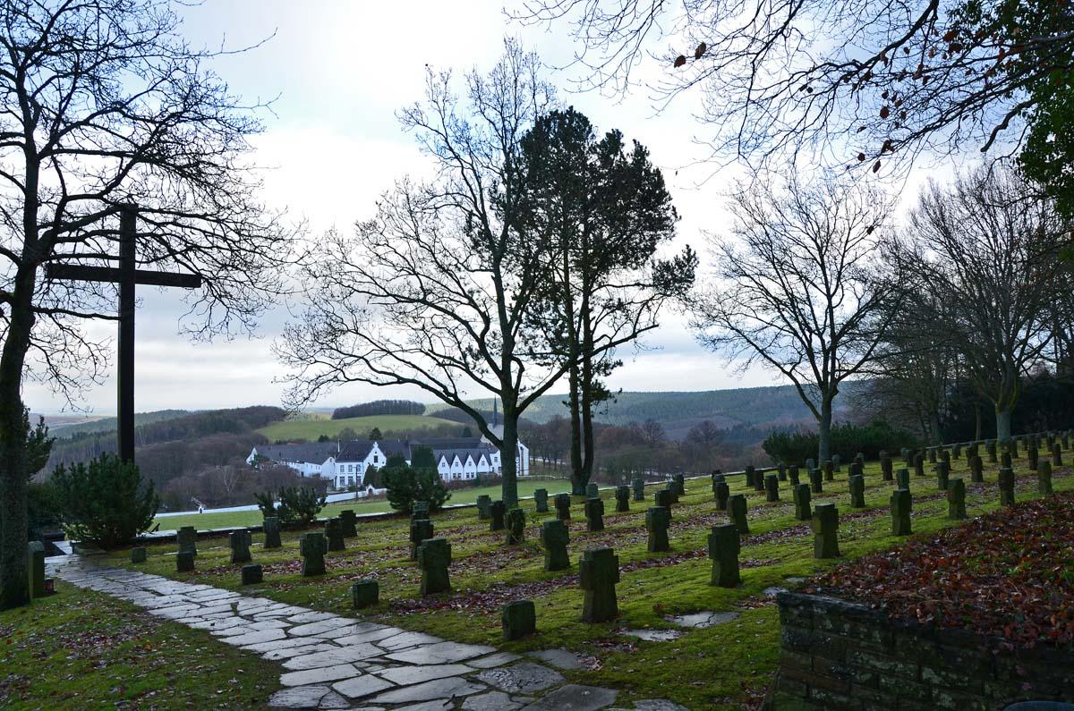 Ehrenfriedhof Abtei MAriawald