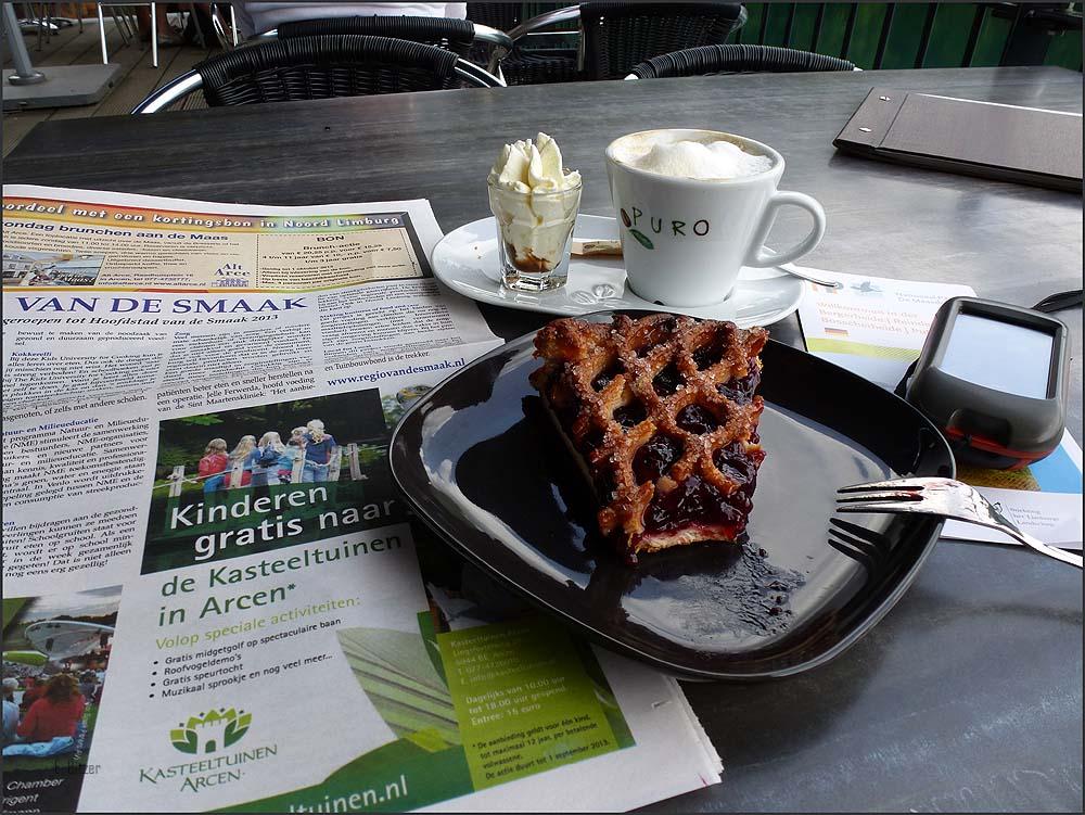 Holländisches Kaffeegedeck - Reindersmeer und Leukermeer