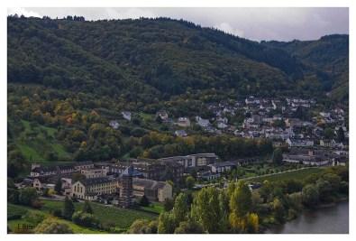 Blick auf Kloster Ebernach