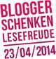 Blogger_Lesefreude_2014_Logoklitzekl