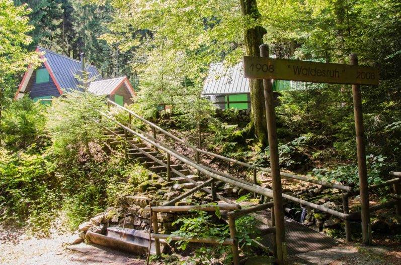 Waldesruhhütten, die Grube Gottessegen und Ernsdorfer Zeche Das nenne ich liebevollen Erhalt. Es roch noch nach frischer Farbe