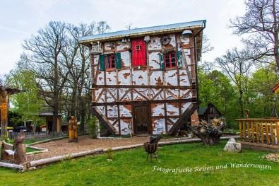 Hexenhaus auf dem Hexentanzplatz
