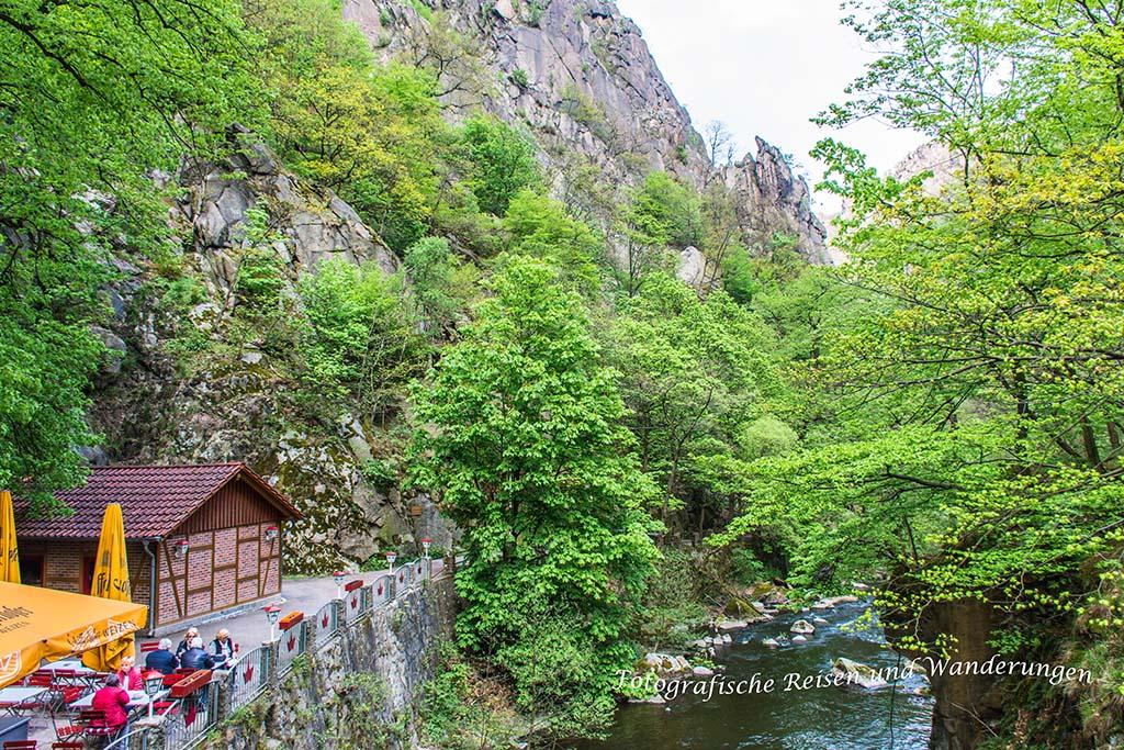 Hexenstieg zwischen Thale und Treseburg Jungfernbrücke