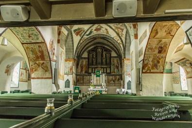 Kirchenbänke Bonte Kerke Lieberhausen