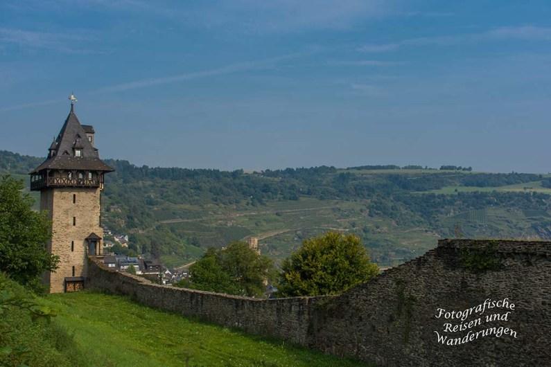 Parallel zur Stadtmauer Oberwesel