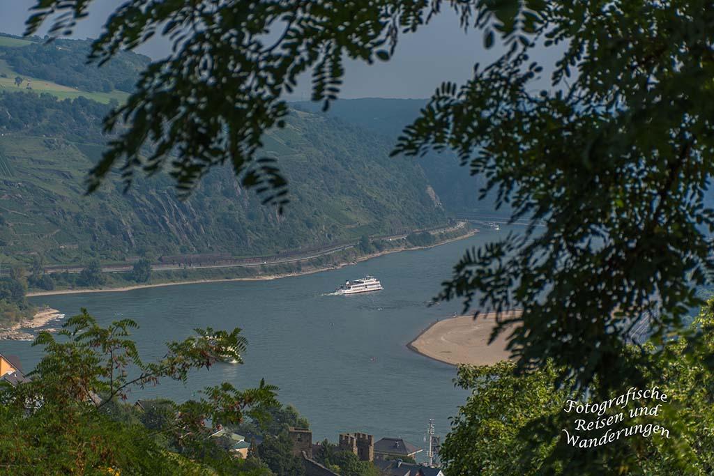 Blick auf den Rhein vom Kackstuhl