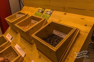 Getreidekörner zum Anfassen - Arminiuspark Landesgartenschau 2017 Bad Lippspringe